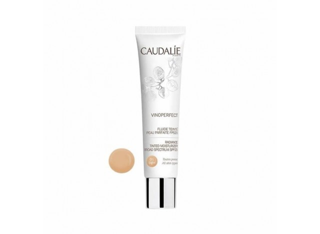 Caudalie Vinoperfect Fluido Con Color Piel Perfecta Light 01 SPF20 40 ml