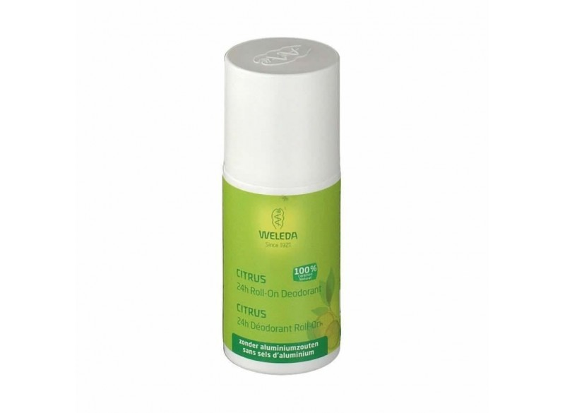 Weleda Fresh 24 H Desodorante Citrus Roll On 50 ml