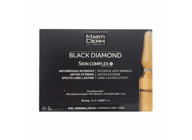 Martiderm Black Diamond Skin Complex Ampollas 30x2 ml