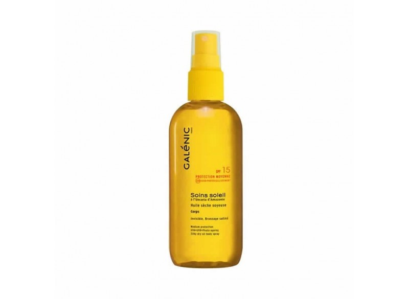 Galenic Soins Soleil Aceite Seco Sedoso Corporal SPF15 150 ml