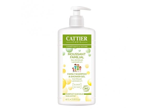 Cattier Gel Espumoso Familiar 1L