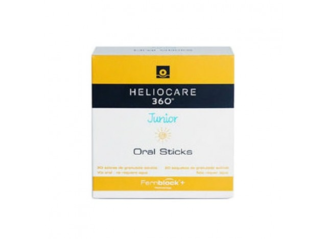 Heliocare 360° Junior Oral Sticks Sobres 20x1gr