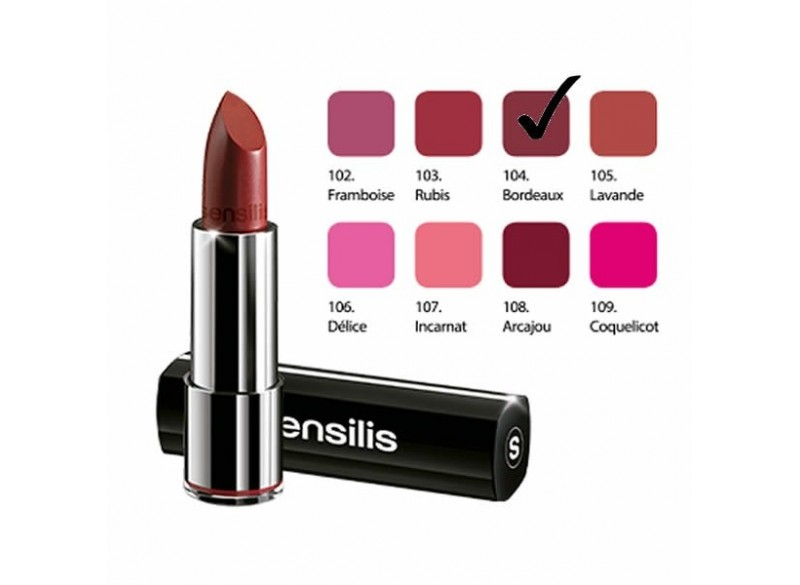 Sensilis Intense Matt Lipstick 104 Bordeaux 3.5ml