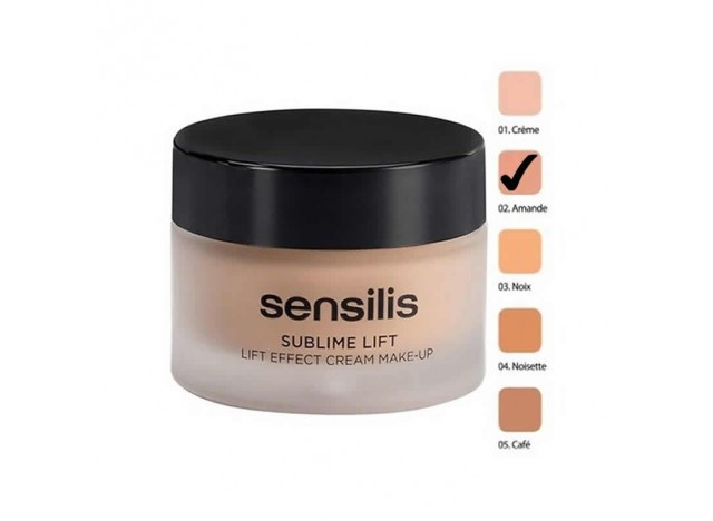 Sensilis Sublime Lift Make-Up Effect Cream Amande 30ml