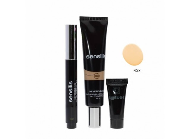 Sensilis Basic 2 Steps Neverending Make Up 02 Noix SPF15 30ml + Corrector 4.5ml +