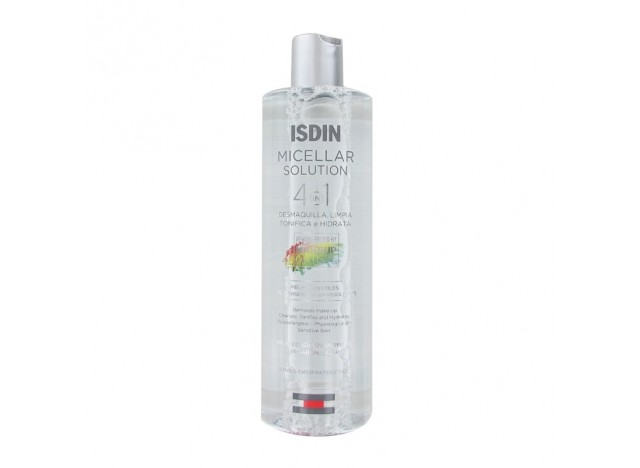 Isdin Fusion Micellar Solution Limpiadora 400Ml