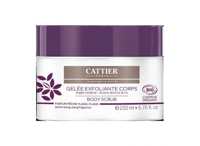 Cattier Gel Exfoliante Corporal Arcilla Purpura 200ml