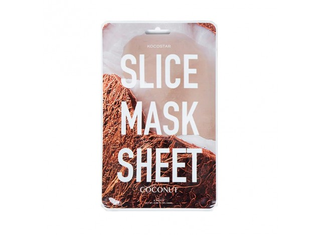 Kocostar Slice Mask Sheet-Coconut