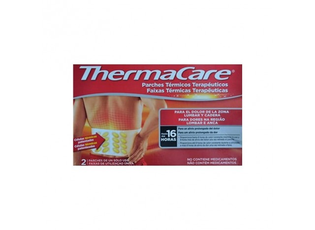 Thermacare Zona Lumbar Y Cadera 2uds