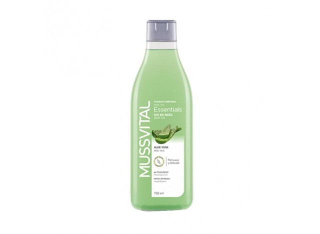 Mussvital Gel De Baño Essentials Aloe Vera 100ml