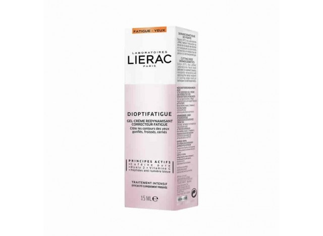 Lierac Dioptifatigue Ojos Gel-Crema 15ml