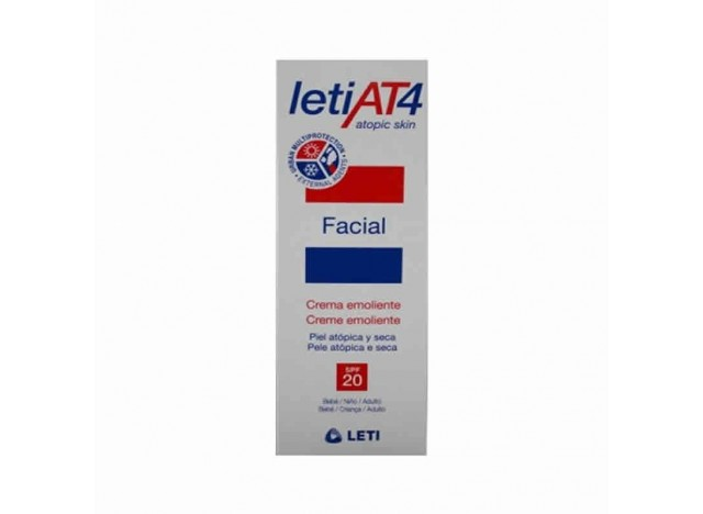 Leti At 4 Crema Facial SPF20 50ml