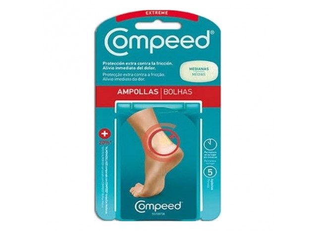Compeed Ampollas Hidrocoloide Extreme 5uds