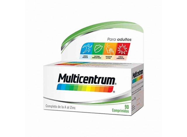 Multicentrum Adultos 90 Comprimidos