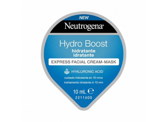 Neutrogena Mascarilla Facial Hydro Boost Hidratante 10ml