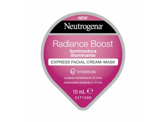 Neutrogena Mascarilla Facial Radiance Boost Iluminadora 10ml