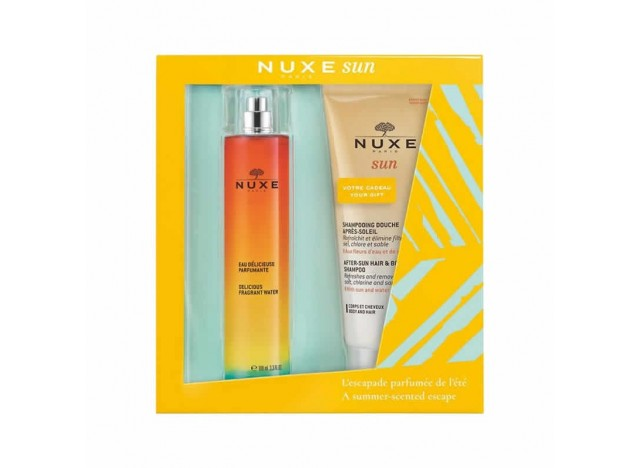 Nuxe Sun Cofre Agua Perfumada 100ml + Regalo Champú De Ducha After Sun 200ml