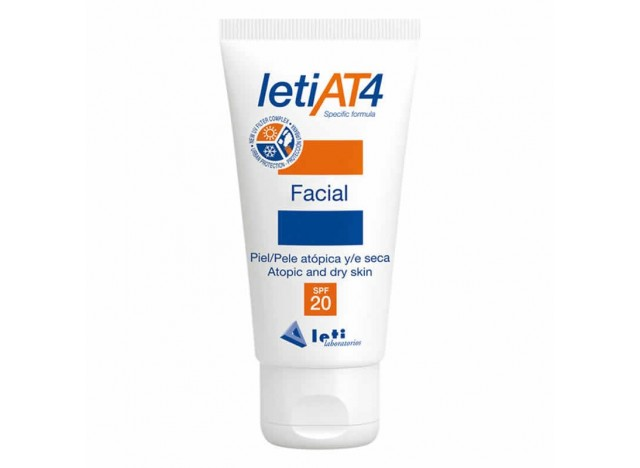 Leti At4 Crema Facial Hidratante SPF20 50ml