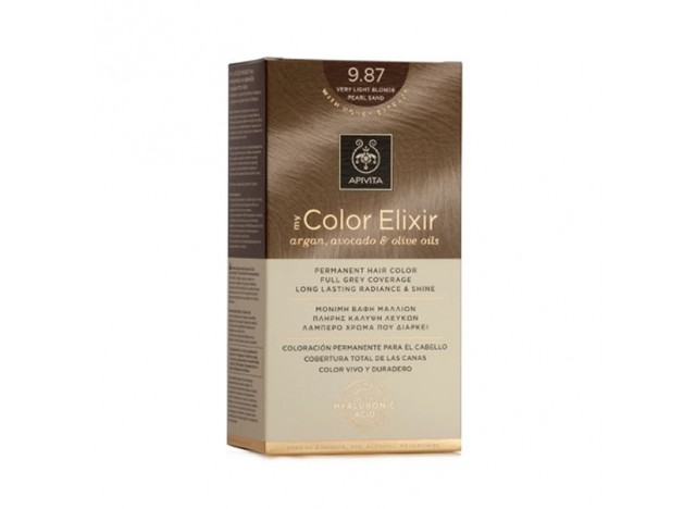Apivita Color Elixir 9.87 Very Light Blonde Pear