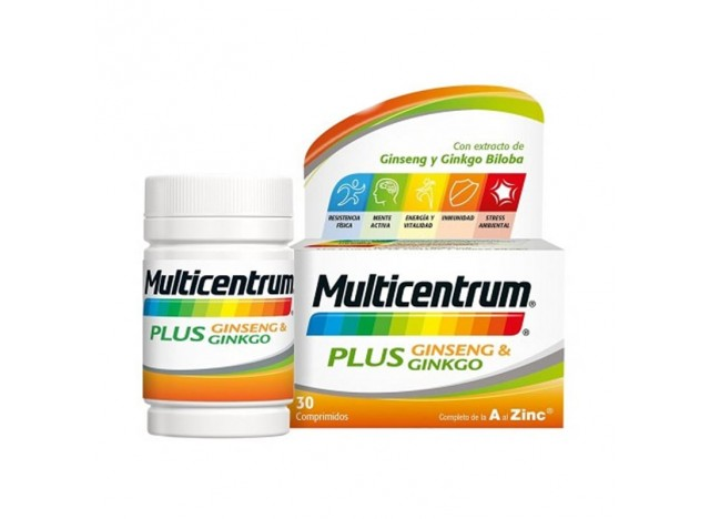 Multicentrum Plus Vitaminas 30 Comprimidos